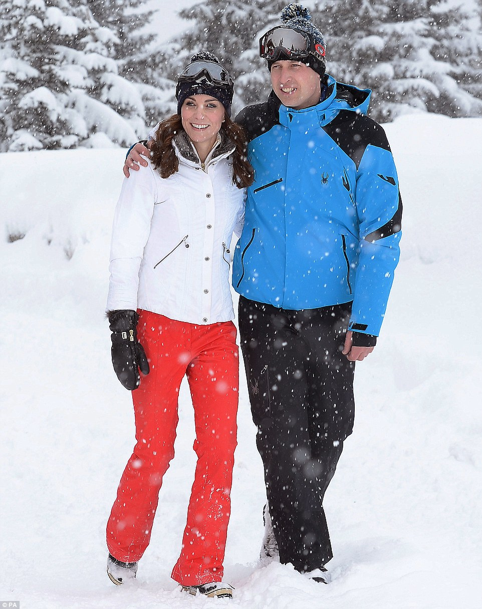 Kate and William's Ski Holiday Pictures