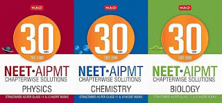 MTG 30 Years NEET-AIPMT Chapterwise Sol. Combo - Physics, Chemistry, Biology