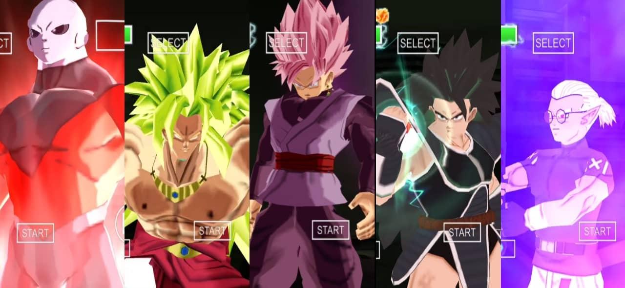 Dragon ball Super Villains