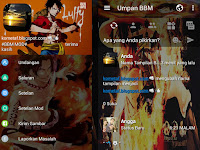 BBM Mod Luffy One Piece v3.0.1.25 Pro APK Free Download