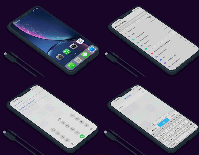 Vivo Theme: Download Tema iPhone (iOS 12) Untuk Vivo Terbaru