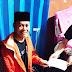 Petahana Kepala Desa Sukamukti, Peduli Kesehatan dan Santri