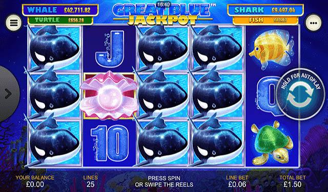 Ulasan Slot Playtech Indonesia - Great Blue Jackpot Slot Online