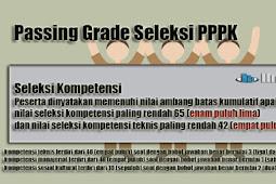 Ambang Batas (Passing Grade) Seleksi PPPK Sesuai Permenpan No 4 Tahun 2019