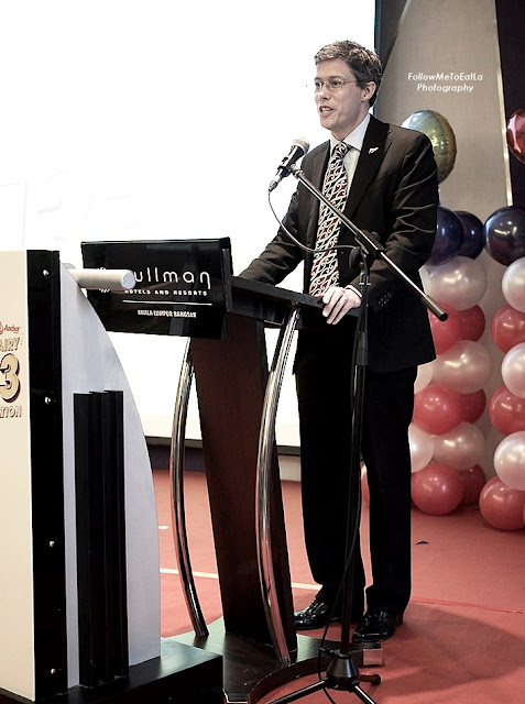 His Excellency Mr Hunter Nottage, New Zealand High Commissioner to Malaysia and Brunei Darussalam