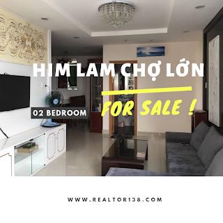 căn hộ Him Lam Chợ Lớn 2 phòng ngủ 2019