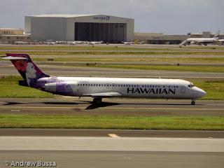 Hawaiian Airlines 717 N490HA