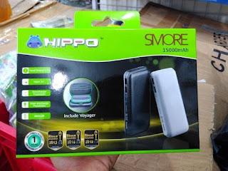 POWERBANK HIPPO SMORE 15000MAH