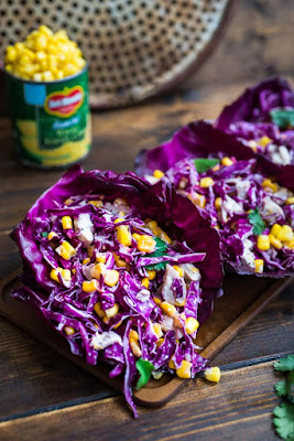 ★★★★★ |   Red Cabbage and Corn Salad