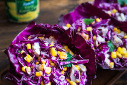 ★★★★★     Red Cabbage and Corn Salad