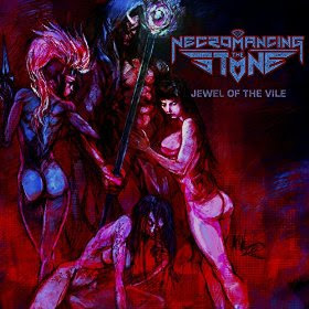 "Το lyric video των Necromancing the Stone για το τραγούδι ""The Descent"""
