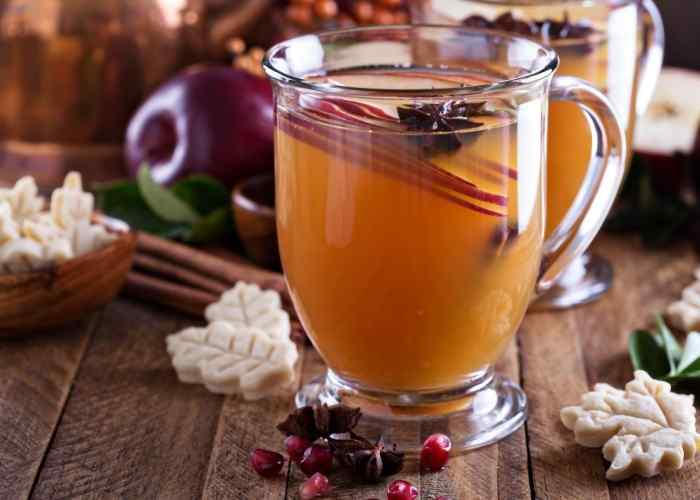 Mulled Cider Recipe in a Slow Cooker