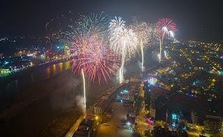 Lào Cai : 4 Điểm bắn pháo hoa mừng xuân canh tý 2020