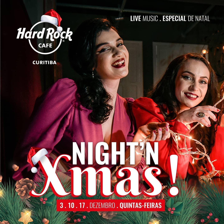 Show de Natal no Hard Rock Café Curitiba