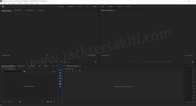 Membuat Project Baru Adobe Premiere Pro