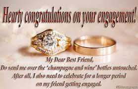 Wishes for ring Ceremony