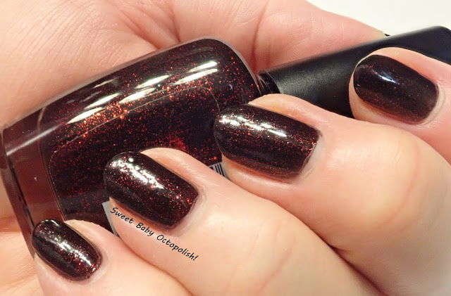 Piggy Polish Midnight Fireflies