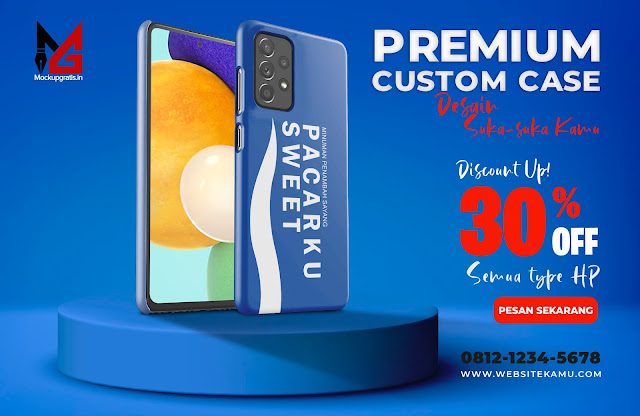 Mockup Custom Case 3D SAMSUNG Galaxy A52