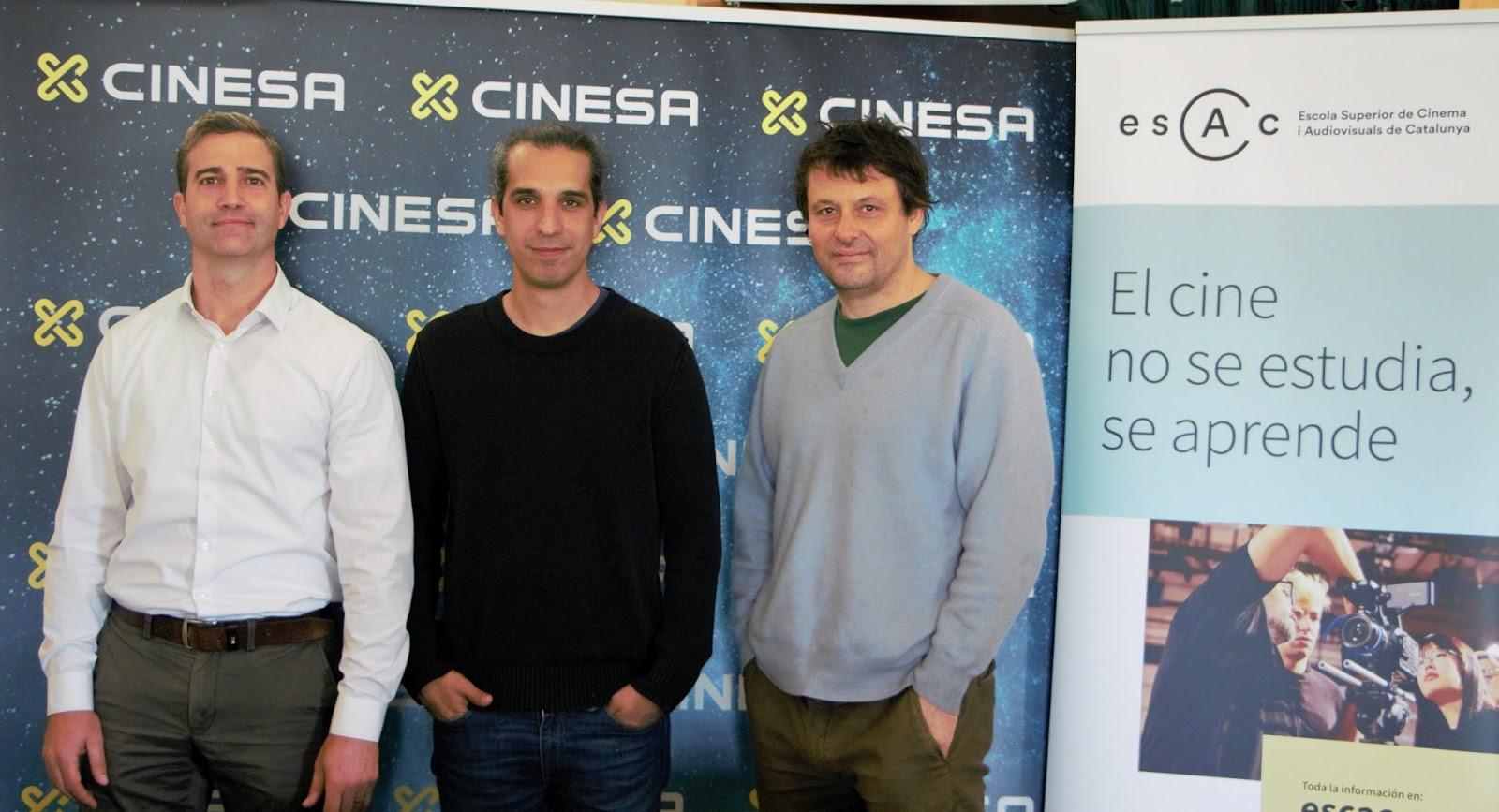 770f8ace9cf Cinesa y ESCAC ayudan a futuros cineastas a cumplir su sueño