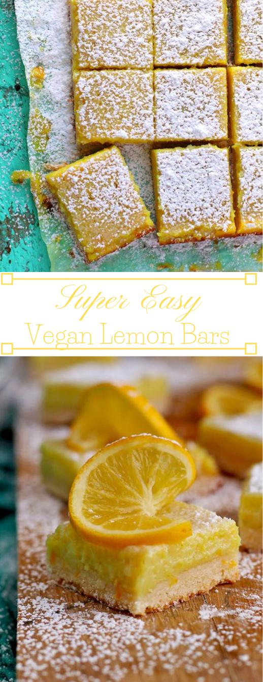 VEGAN LEMON BARS #vegan #lemon #bars #desserts #diet
