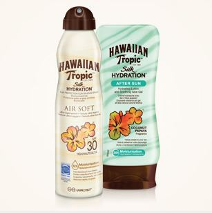 Prueba Crema Solar y Aftersun Hawaiian Tropic