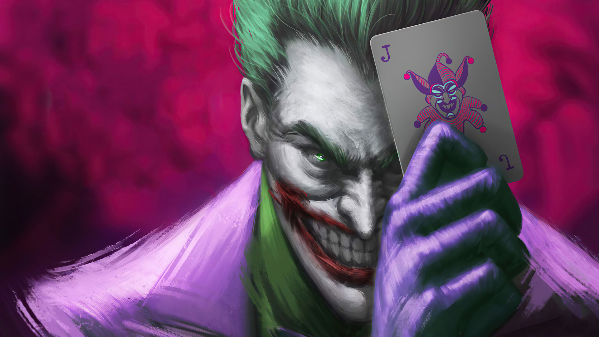 Joker Play Card 4k Wallpaper