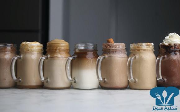 طريقة عمل مشروبات القهوة الباردة في الصيف