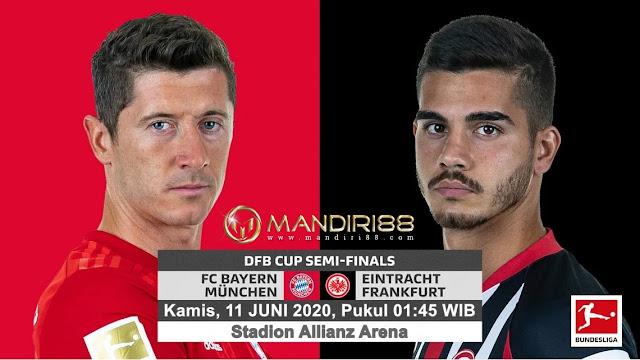 Prediksi Bayern Munchen Vs Eintracht Frankfurt, Kamis 11 Juni 2020 Pukul 01.45 WIB