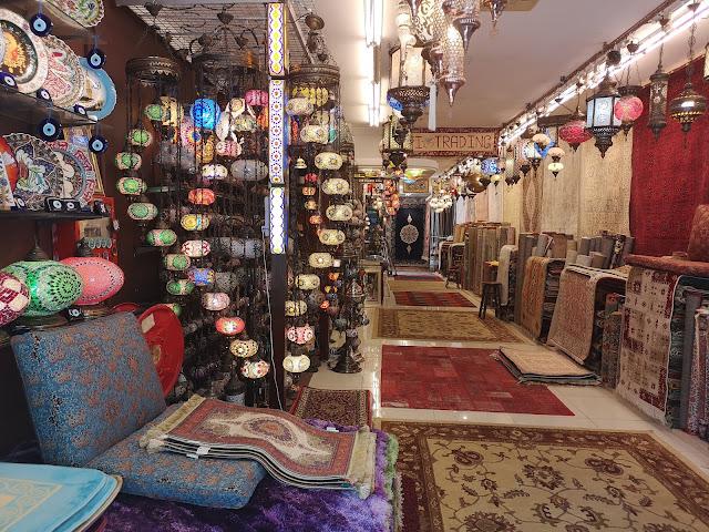 Arab Street carpet shop