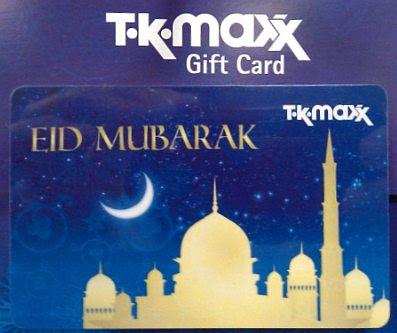 Eid at T.K. Maxx