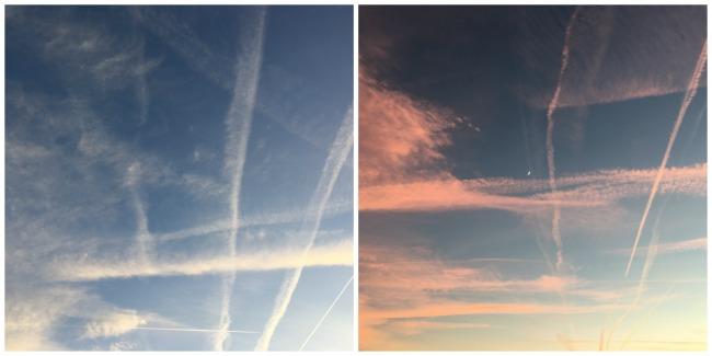 Our-weekly-journal-9th-Jan-2017-sky-with-vapour-trails