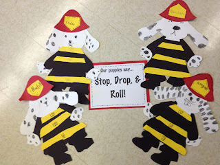 Fire Safety Week! - First Grade Roars!