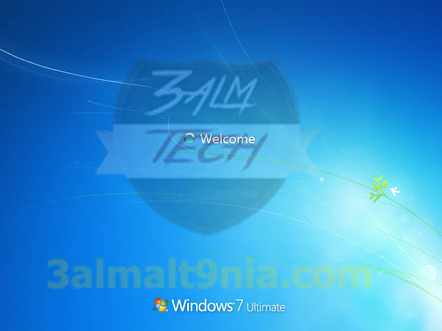 Windows 7 {Happy New Year Edition - عالم التقنيه