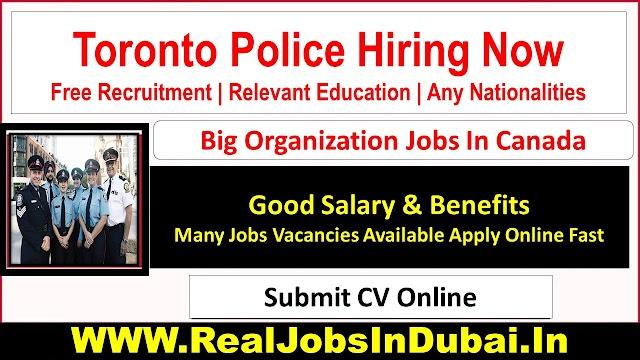 Toronto Police Careers Jobs Opportunities - Canada