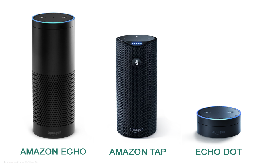 enceintes intelligentes comparatif d 39 amazon echo et. Black Bedroom Furniture Sets. Home Design Ideas