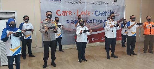 ASBUPI Salurkan 10 Ribu Masker Gratis Kepada Buruh TKBM Pelabuhan Tanjung  Priok