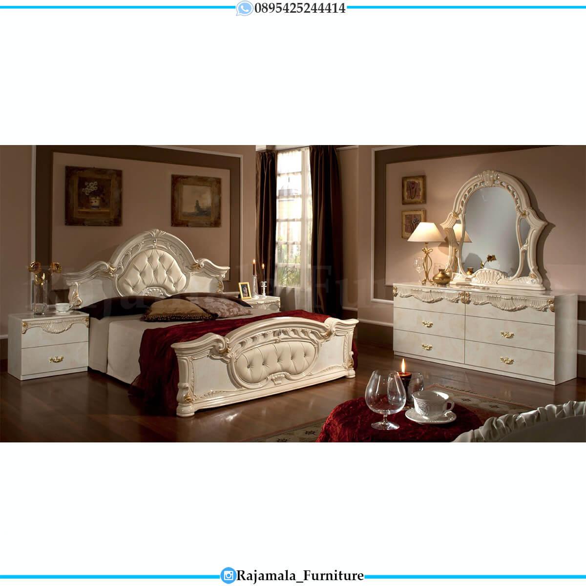 Harga Tempat Tidur Mewah Ukiran Jepara Imperial Style RM-0699