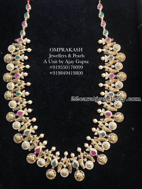 Trendy Ramparivar Haram from Omprakash Jewellers