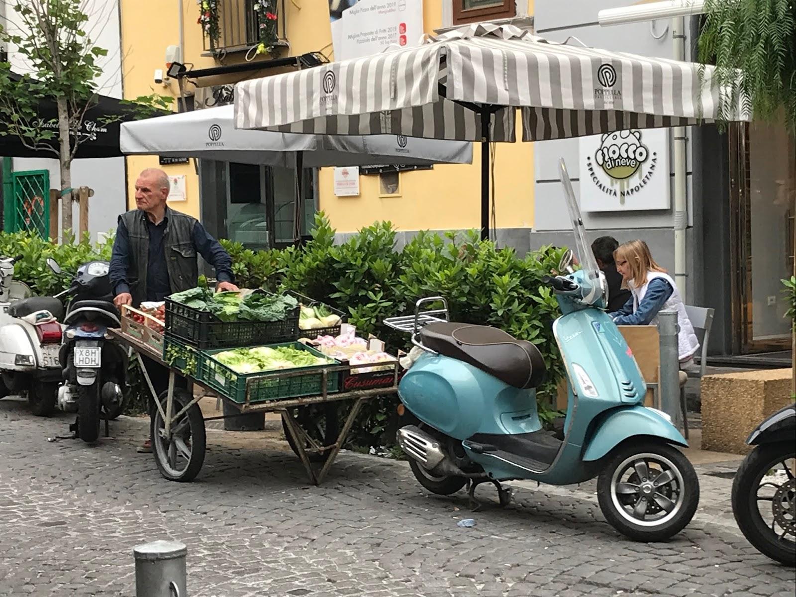 séjour à Naples