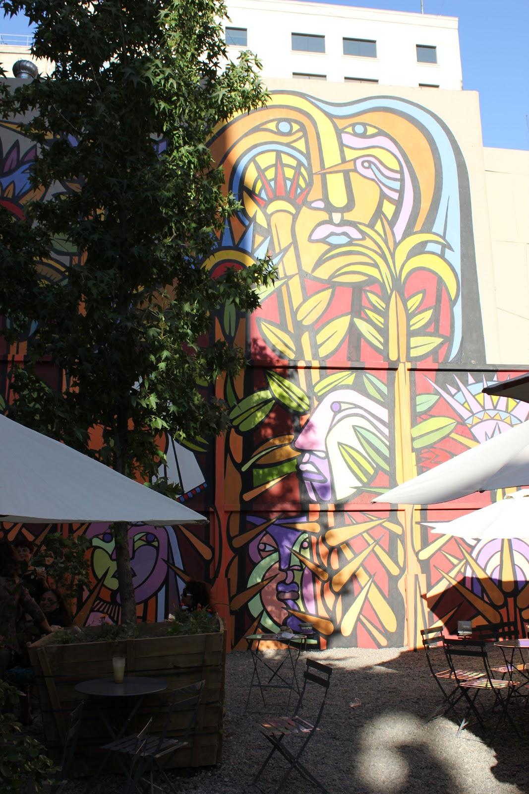 Murales En Santiago Centro Plaza De Bolsillo Morande 83 By Mono