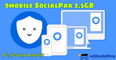 Latest 9mobile Social Pack Free Browsing Cheat  With Betternet Vpn On PC,IOS