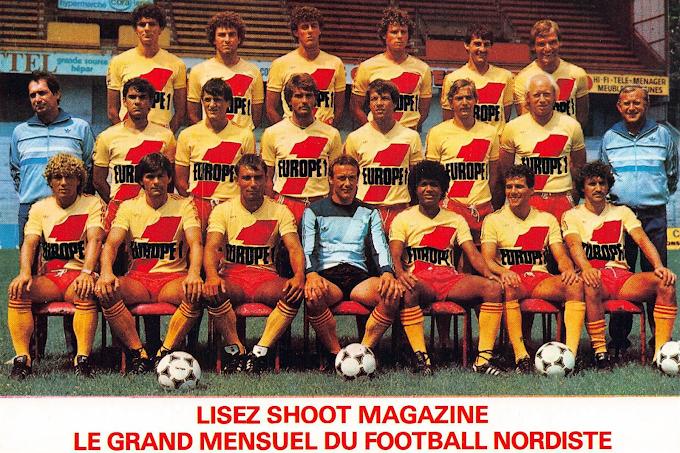 R.C LENS 1982-83.
