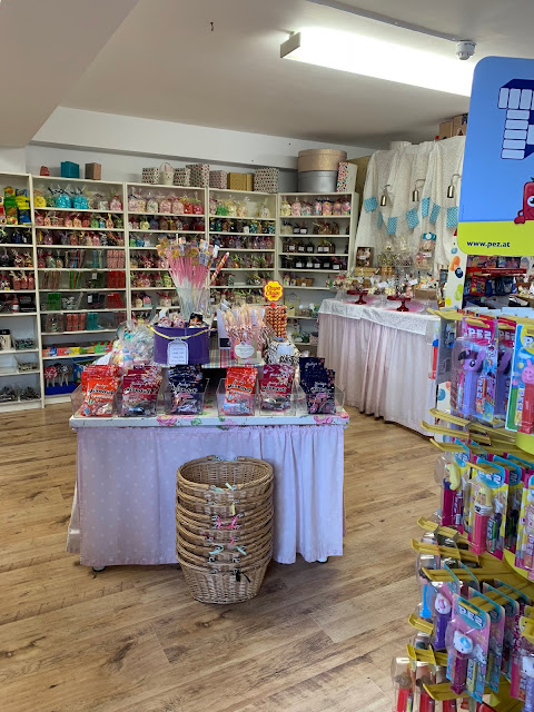 A sweet shop at Barleylands Village
