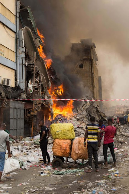 Aftermath Of The Balogun Market Fire In Lagos