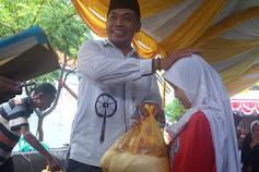 Ketua Rt 05/03 kelurahan paoman Silaturahmi Bersama Anak Yatim/Piatu Dan Kaum Dhuafa