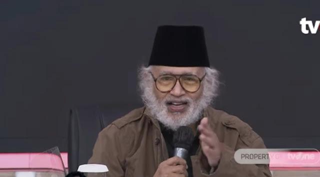 Prof Salim Said Ungkap Kesalahan Fatal Jokowi Hadapi Kelompok Islam