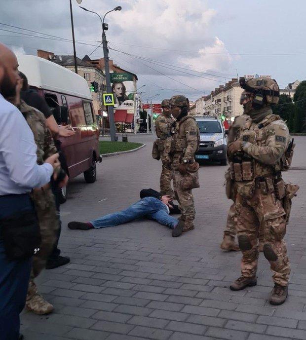 Штурм терориста у Луцьку виявився постановкою