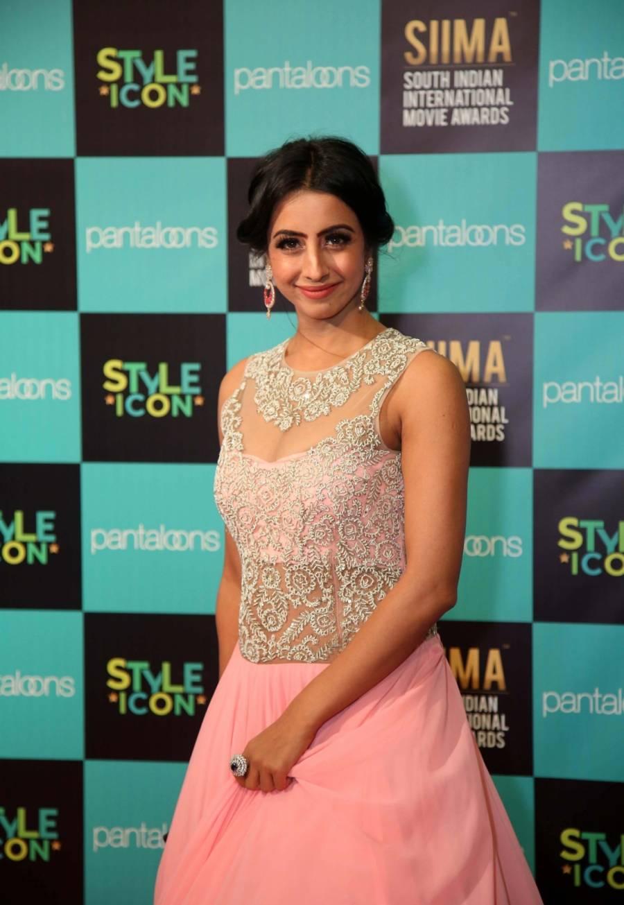 South Indian Actress Sanjjanaa Galrani at SIIMA Awards 2019