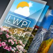 تحميل تطبيق Weather Live Wallpaper. Current forecast on screen (Bastion7 ) v1.38 (Pro) Apk