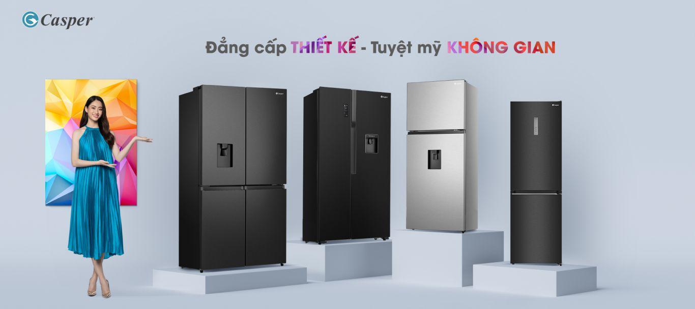 tủ lạnh casper new model